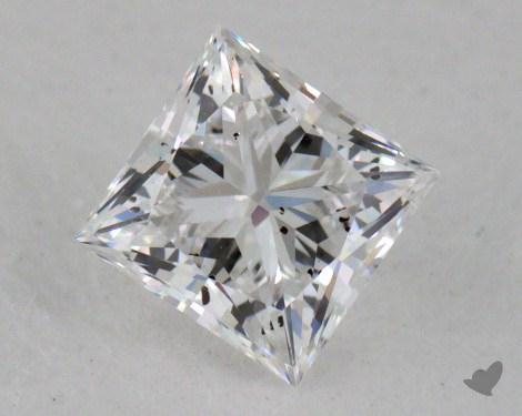 0.40 Carat E-I1 Ideal Cut Princess Diamond