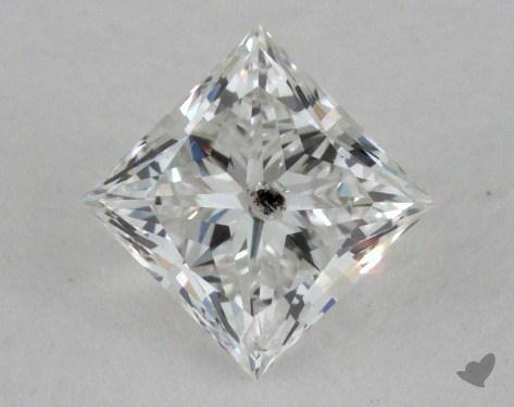 0.48 Carat E-I1 Ideal Cut Princess Diamond