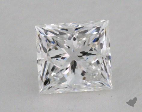 0.52 Carat D-IF Princess Cut  Diamond