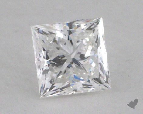 0.52 Carat E-VS1 Very Good Cut Princess Diamond
