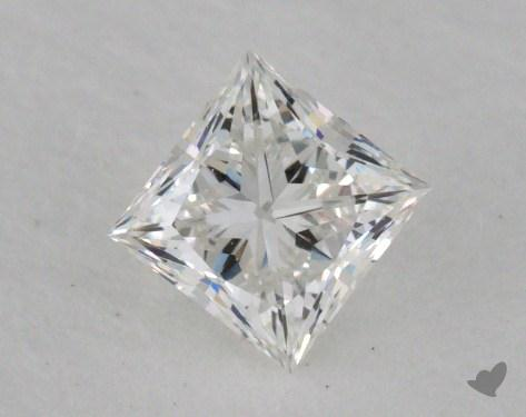 0.50 Carat G-VVS2 Ideal Cut Princess Diamond