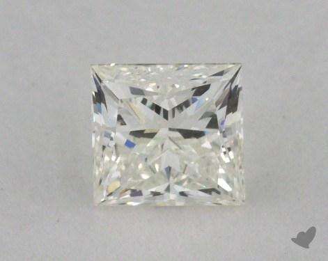 0.50 Carat J-VVS1 Princess Cut  Diamond