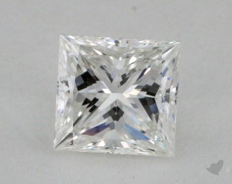 1.22 Carat F-VS1 Ideal Cut Princess Diamond