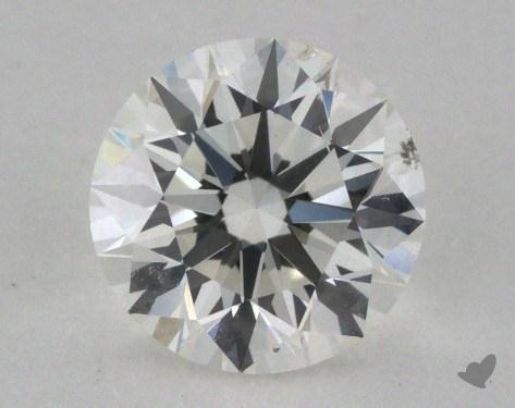 0.91 Carat H-SI1 Excellent Cut Round Diamond