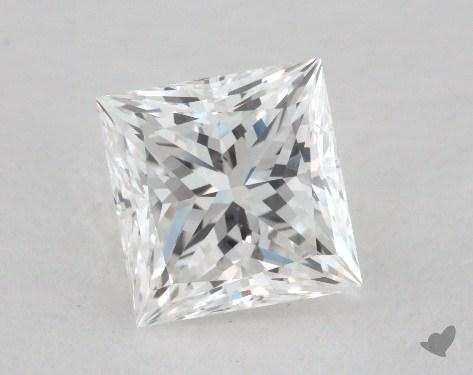 1.55 Carat G-SI1 Princess Cut  Diamond