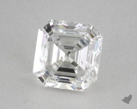 0.97 Carat E-SI1 Asscher Cut Diamond