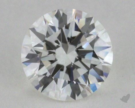 0.77 Carat H-VS1 Excellent Cut Round Diamond