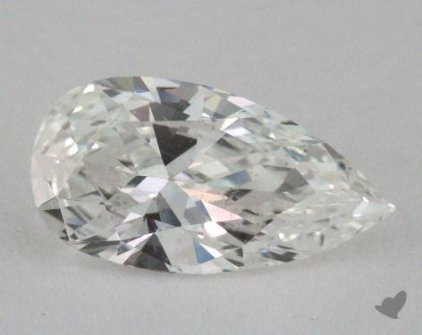 1.33 Carat G-SI1 Pear Cut Diamond