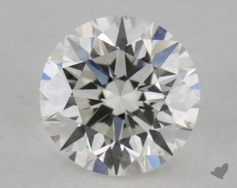 0.82 Carat I-VS2 Excellent Cut Round Diamond