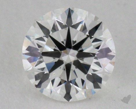 0.70 Carat F-SI1 Ideal Cut Round Diamond