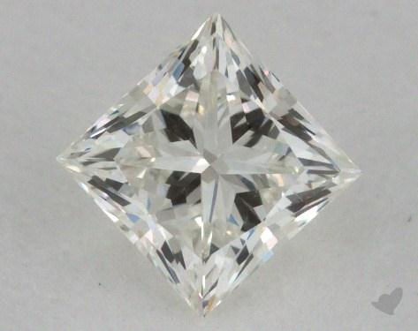 0.65 Carat J-VVS1 Ideal Cut Princess Diamond