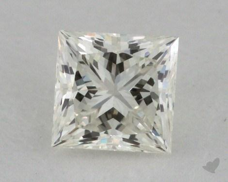0.65 Carat J-VVS2 Ideal Cut Princess Diamond