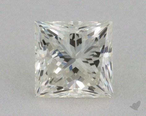 0.63 Carat J-VS1 Ideal Cut Princess Diamond