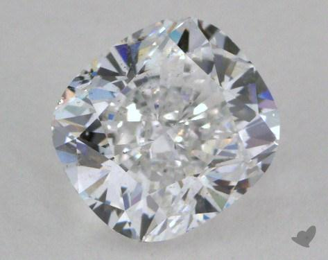 1.51 Carat D-SI1 Cushion Cut  Diamond