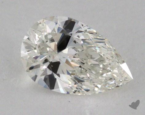 1.09 Carat I-SI2 Pear Cut Diamond
