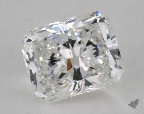 1.51 Carat E-VS2 Radiant Cut  Diamond