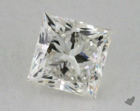 0.77 Carat I-VS1 Excellent Cut Princess Diamond