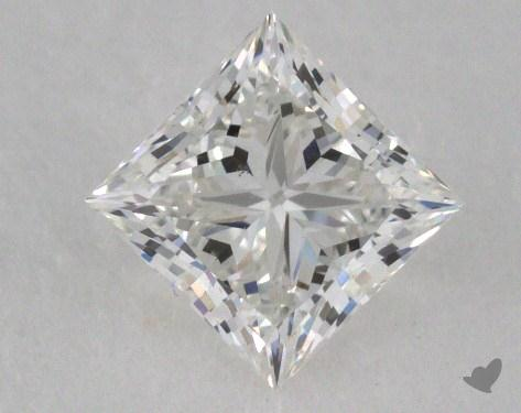 0.80 Carat G-VS2 Ideal Cut Princess Diamond