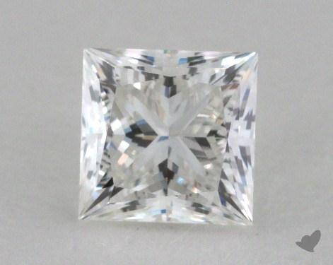 0.81 Carat F-VS1 Ideal Cut Princess Diamond