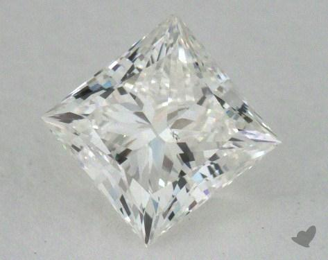 0.90 Carat H-VS2 Ideal Cut Princess Diamond