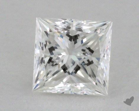 0.82 Carat G-VS1 Princess Cut Diamond