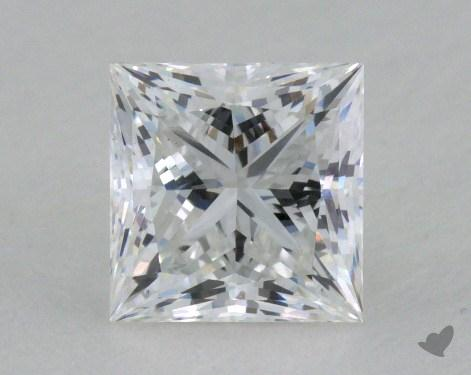 0.85 Carat F-VS1 Ideal Cut Princess Diamond