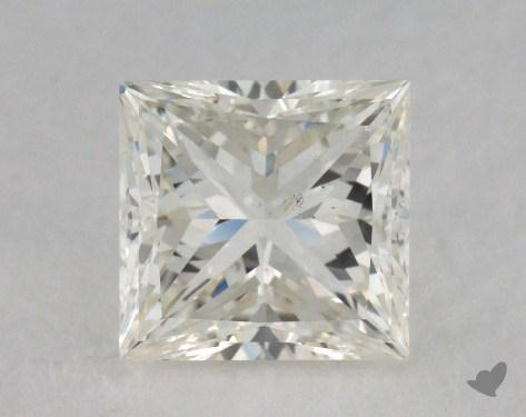 1.31 Carat J-SI1 Ideal Cut Princess Diamond