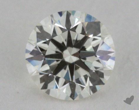 0.53 Carat J-VS2 Excellent Cut Round Diamond