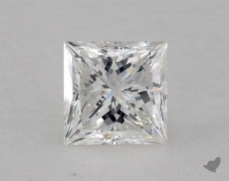 1.01 Carat F-SI1 Ideal Cut Princess Diamond