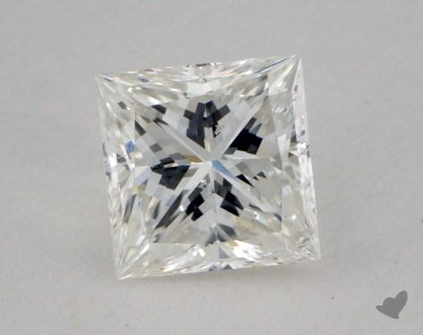 1.00 Carat I-SI2 Ideal Cut Princess Diamond
