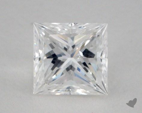 1.16 Carat E-SI2 Ideal Cut Princess Diamond
