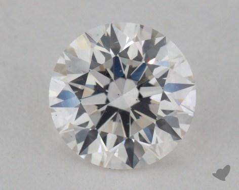 0.76 Carat F-VS2 Ideal Cut Round Diamond
