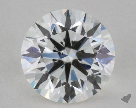0.90 Carat F-SI1 Ideal Cut Round Diamond