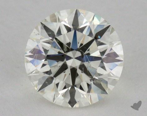 1.57 Carat J-SI2 Ideal Cut Round Diamond
