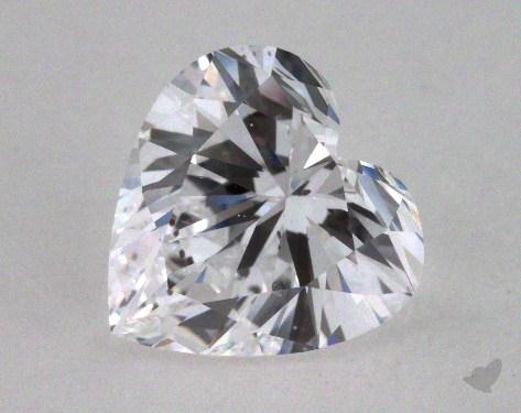 1.63 Carat D-SI1 Heart Shape Diamond