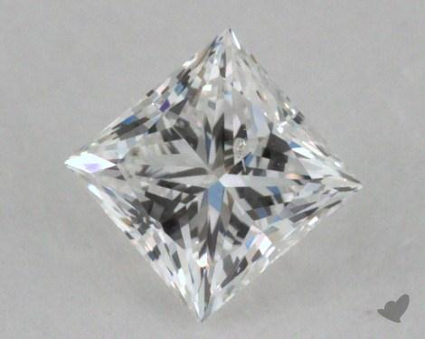 0.31 Carat D-I1 Very Good Cut Princess Diamond