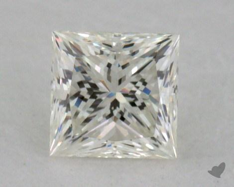 0.31 Carat J-VVS1 Very Good Cut Princess Diamond