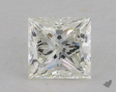0.44 Carat I-SI2 Very Good Cut Princess Diamond