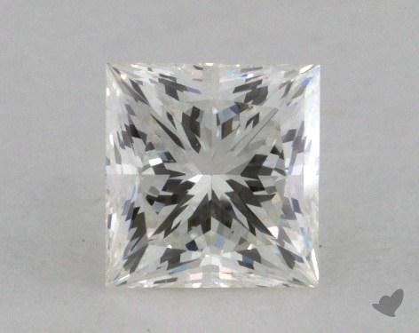 0.46 Carat I-SI2 Good Cut Princess Diamond