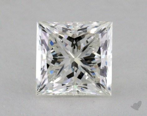 3.54 Carat H-VS2 Princess Cut Diamond