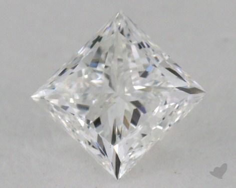 1.02 Carat E-SI1 Ideal Cut Princess Diamond