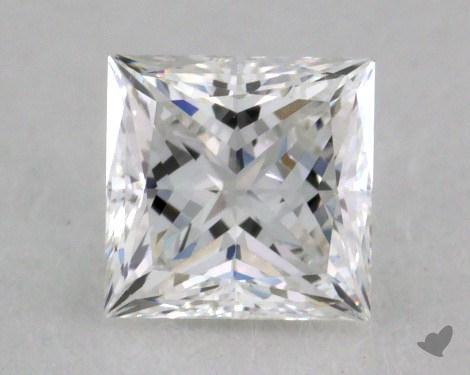 0.57 Carat F-VVS1 Ideal Cut Princess Diamond