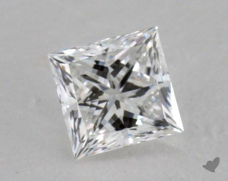 0.62 Carat E-VS1 Princess Cut  Diamond