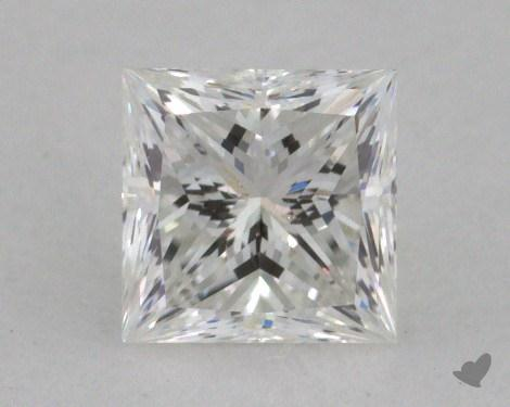 0.59 Carat G-SI2 Ideal Cut Princess Diamond