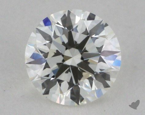 0.54 Carat H-VVS1 Ideal Cut Round Diamond
