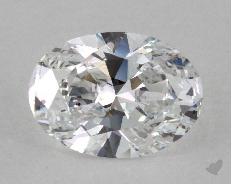 1.50 Carat D-SI2 Oval Cut Diamond