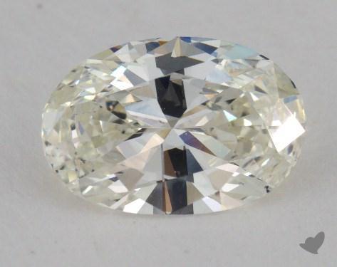 0.96 Carat J-VS2 Oval Cut Diamond
