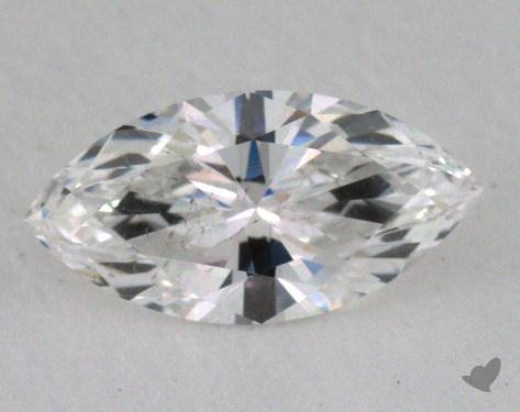 0.50 Carat F-SI2 Marquise Cut Diamond