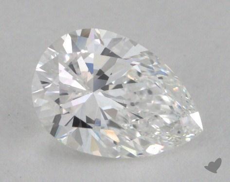 0.80 Carat D-VS2 Pear Shape Diamond