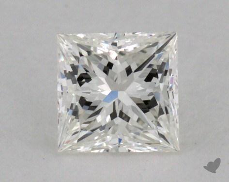 0.53 Carat I-VVS2 Princess Cut Diamond 